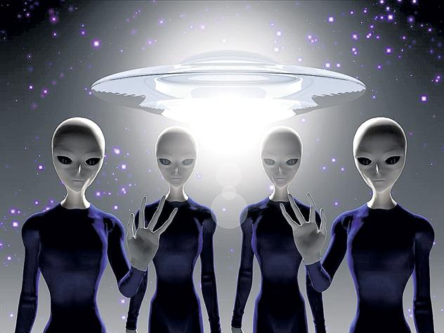 Убийство Кеннеди связали с инопланетянами