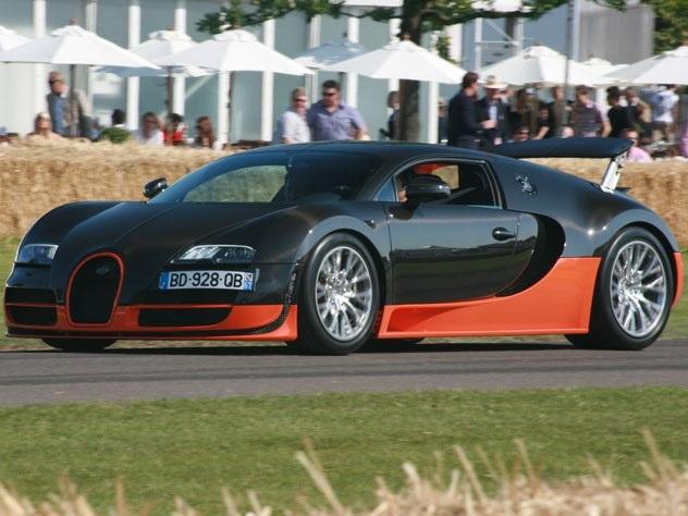 ТОП-7 самых быстрых серийных автомобилей