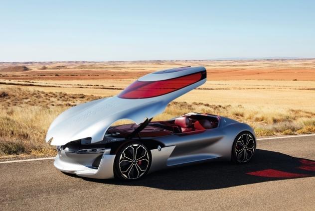 Автомобили будущего: самые крутые концепт-кары 2016 года