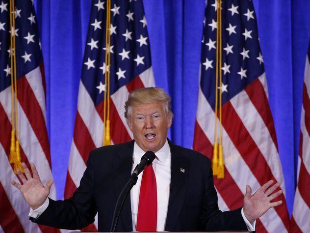 Трамп ответил насообщения оналичии у РФ компромата нанего