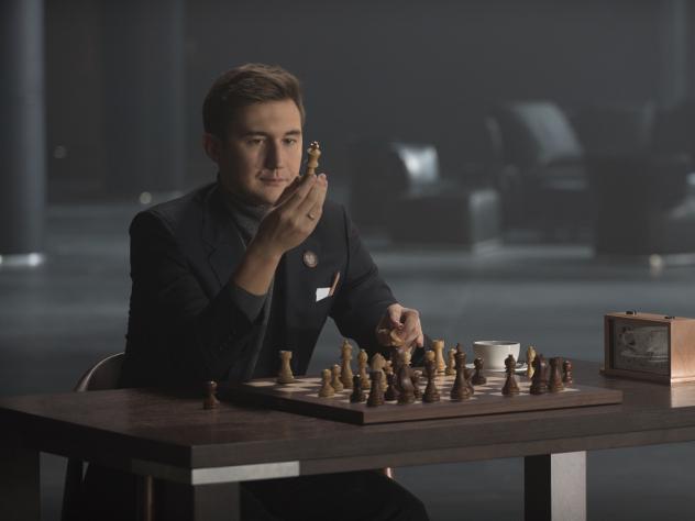 Карякин стал лицом рекламных кампаний «Открытия»