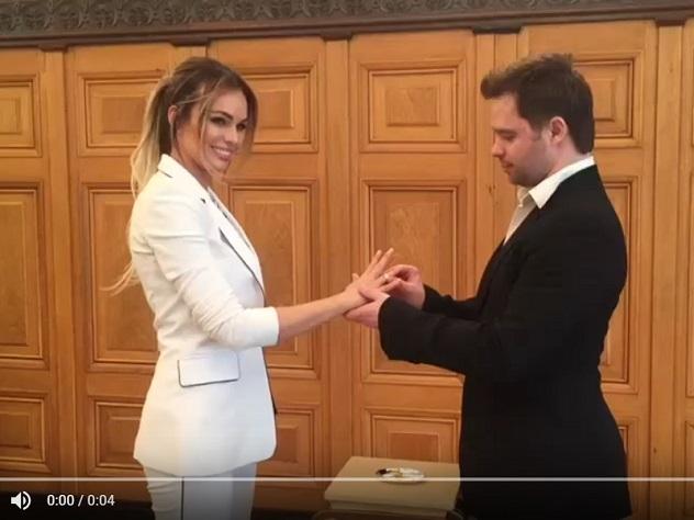Виталий Гогунский выполнил данное имобещание иженился наматери собственной дочери