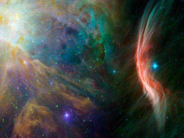 Астрономы обнаружили место столкновения параллельных вселенных
