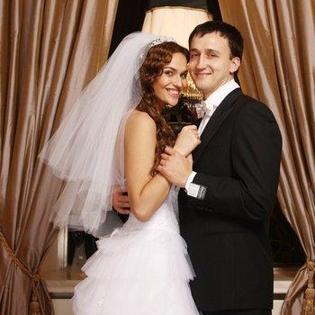 Алена с мужем. Фото v-dome2.ru