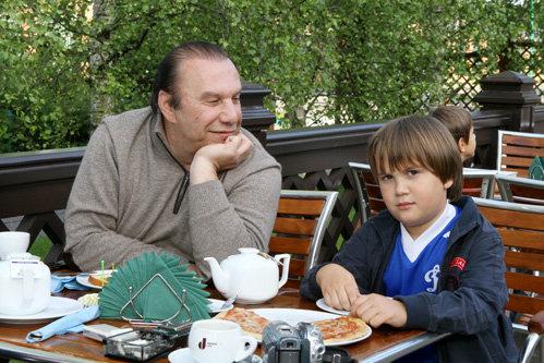 Виктор БАТУРИН с сыном