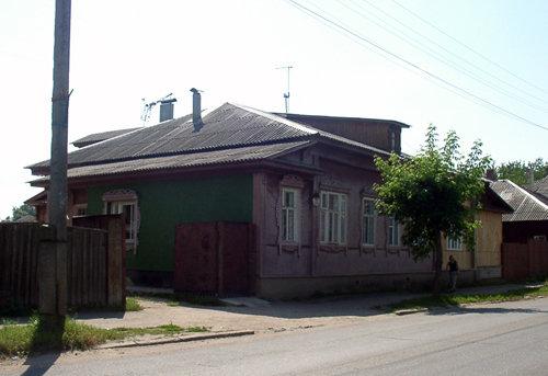 Дом Маргариты Васильены в Костроме