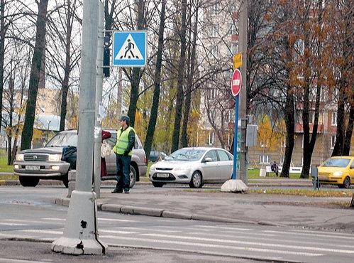 ...расставленной сотрудниками ГИБДД (фото ffclub.ru)