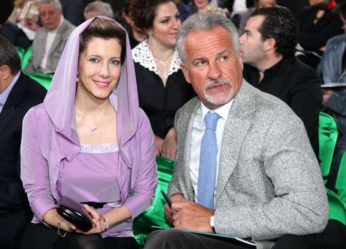 Сергей ЯСТРЖЕМБСКИЙ с женой