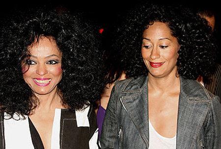66-летняя Диана РОСС и её 38-летняя дочь Трейси Эллис