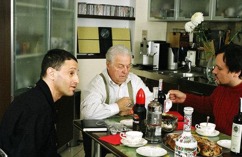 Алекс СИГНАЛ (слева) дома у Михаила ТАНИЧА