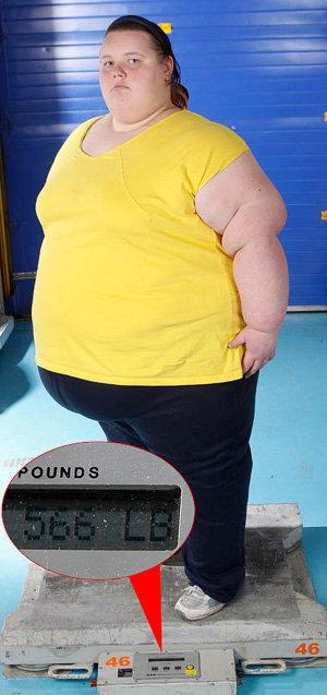Девушка боится, что однажды её вес сведет её в могилу