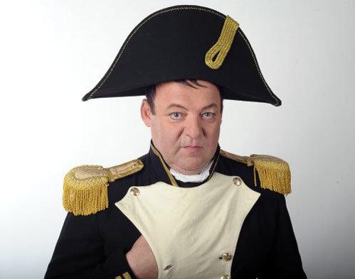 ПАШКОВСКИЙ мечтал сыграть Наполеона. Фото с сайта артиста.