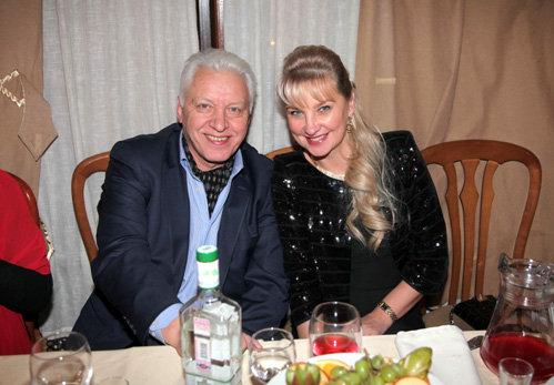 Александр МОРОЗОВ с женой Мариной