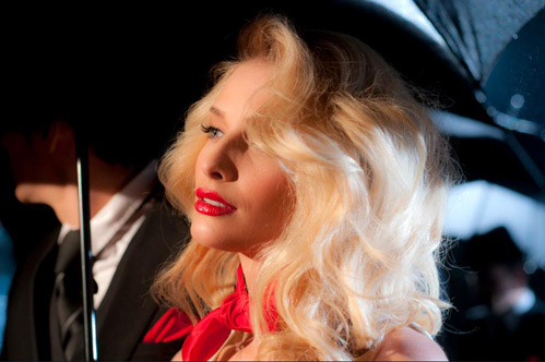 Съёмки клипа песню «Красное на красном»
