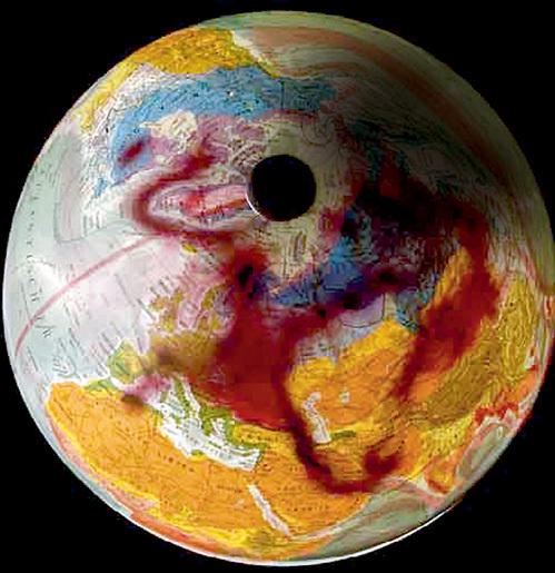 После ЧП облако радиоактивной пыли дважды обогнуло земной шар