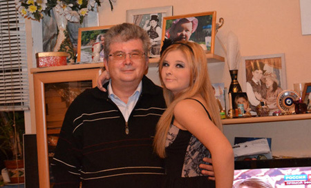 Виктория ТЕСЛЮК с отцом