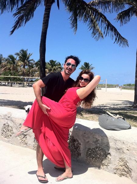 Анфиса ЧЕХОВА чудесно провела время в Майами со своим другом
