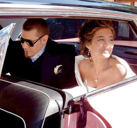 В конце июня прошлого года АЛЕКСАНДРОВИЧ-КРАСКО женился на давней подруге Иоанне