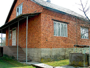 Благодаря милиции хозяева дома остались живы