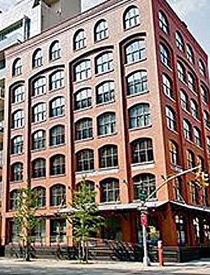 Престижный жилой дом в нью-йоркском районе Трайбека переделан из промышленного здания