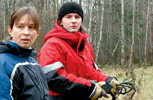 Дочка актрисы Ольга со своим старшим сыном. Фото odnoklassniki.ru
