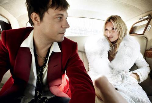 Кейт МОСС с женихом