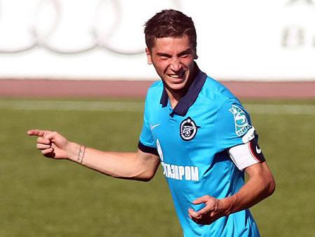 57-ой номер «Зенита» больше не наденет футболку родного клуба. Фото sportsdaily.ru