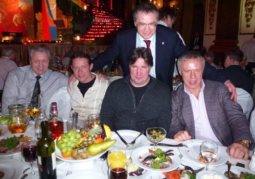 Александр ЯКУШЕВ, Павел БУРЕ, Алексей КАСАТОНОВ, Александр МЕДВЕДЕВ, Вячеслав ФЕТИСОВ