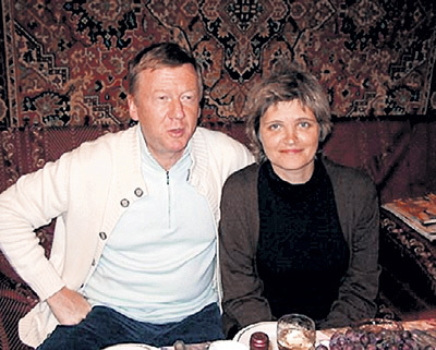 Анатолия ЧУБАЙС, Дуня СМИРНОВА (фото  a-chubais.livejuornal.com)