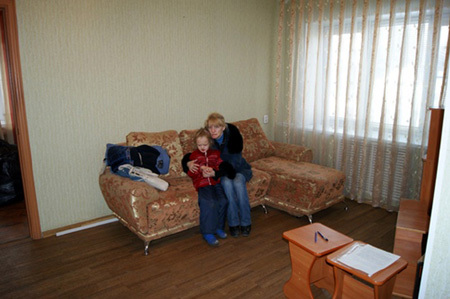 Саша с дочкой Настей