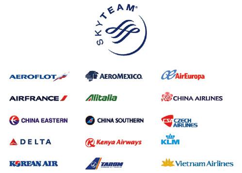 К альянсу Sky Team в ближайшее время присоединятся компании Garuda Indonesia, Aerolineas Argentinas, Saudi Arabian  Airlines, Middle East Airlines, Xiamen Airlines