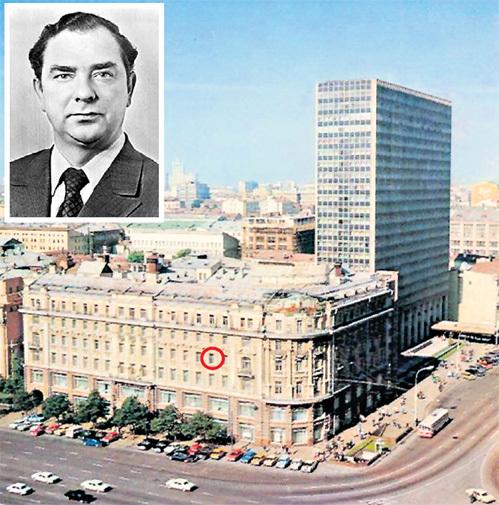 Юрий БРЕЖНЕВ принимал подарки от иностранных компаний, мечтающих выйти на советский рынок, исключительно в номере гостиницы «Националь»