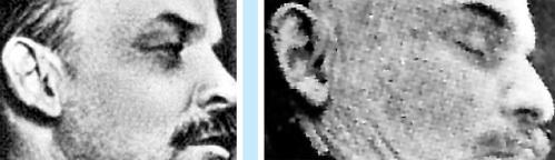 …от уха того, кто запечатлён во время звукозаписи в Кремле (1919 г.) и лежит в Мавзолее