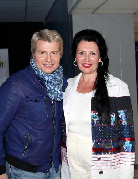 Николай БАСКОВ с мамой