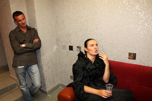 Елена ВАЕНГА с мужем Иваном МАТВИЕНКО (фото Ларисы КУДРЯВЦЕВОЙ)