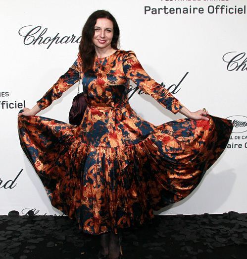 Актриса Алиса Хазанова на Chopard-party в рамках 65-го Каннского Международного кинофестиваля