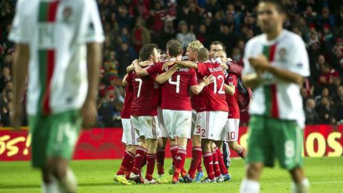 Португалия обыграла Данию. Фото: «РИА Новости».