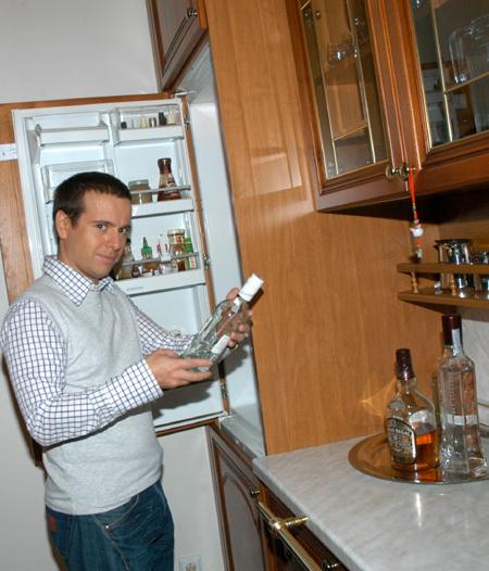 Андрей ГУБИН в своём особняке на Рублёвке
