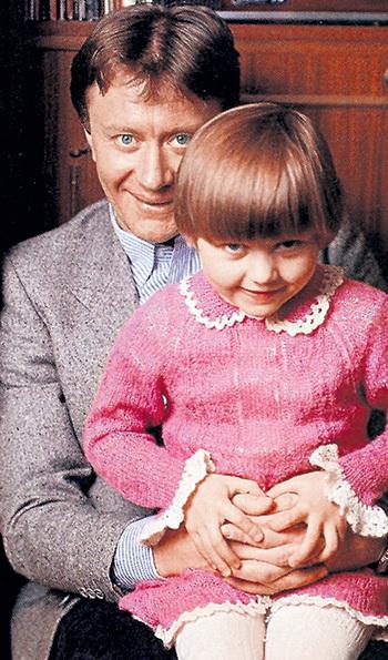 …и Мария МИРОНОВА - единственная дочь легендарного артиста Андрея МИРОНОВА