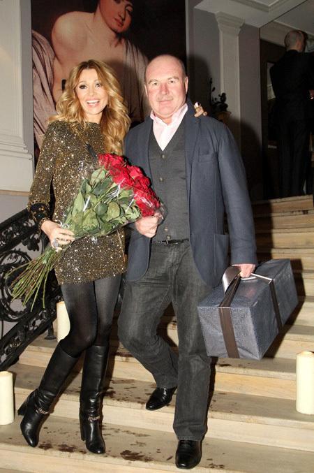 Анжелика АГУРБАШ с мужем Николаем (фото Бориса КУДРЯВОВА)