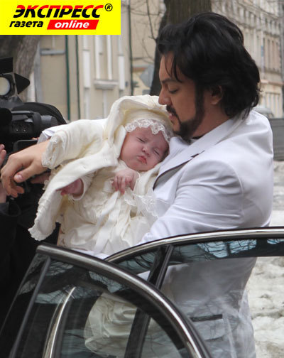 Всего семь месяцев назад у Филиппа КИРКОРОВА родилась дочка Алла-Виктория.