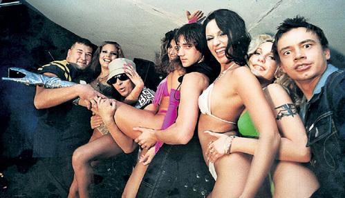 Секс папараци на московских дискотеках