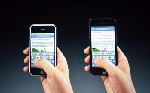 iPhone 5 стал длиннее предшественников