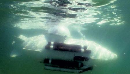 Субмарина способна погружаться на 50 м