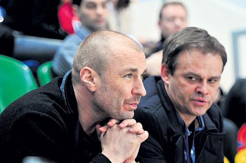 Александр ЖУЛИН (слева) ещё два года назад тренировал ИЛЬИНЫХ и КАЦАЛАПОВА. Фото Александра БУНДИНА/«Советский спорт»