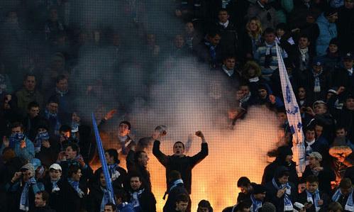Фанаты «Зенита» напугали английскую прессу. Фото: РИА «Новости»