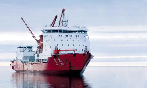 Китайский ледокол «Снежный дракон» в минувшем августе совершил свой первый переход по Северному морскому пути, преодолев путь от Чукотского моря на востоке до Баренцева на западе