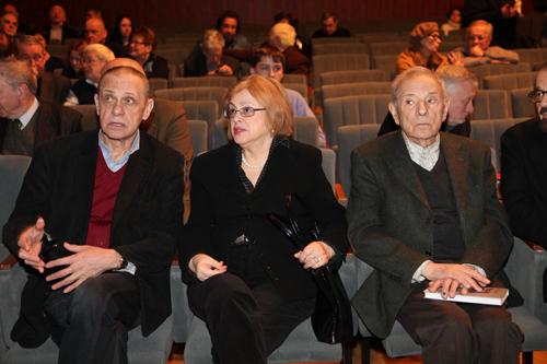 Гарри БАРДИН и Петр ТОДОРОВСКИЙ с супругой