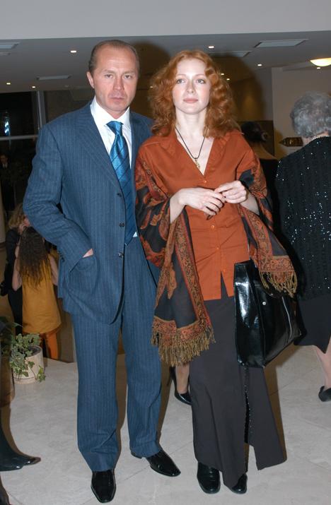 Андрей ПАНИН с женой Натальей РОГОЖКИНОЙ (фото Ларисы КУДРЯВЦЕВОЙ)