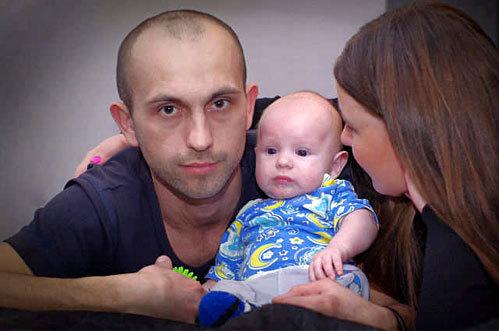 Владимир и Оксана ПОЛУХИНЫ с сыном